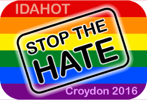 IDAHOT in Croydon 2016