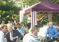 Some guests at a CAGS Garden Party