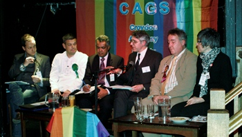 The CAGS Hustings event, 2010