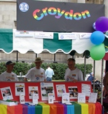 Croydon stall at London Pride
